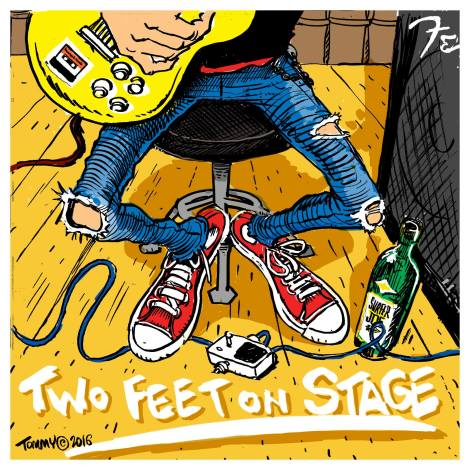 two feet on stage cover